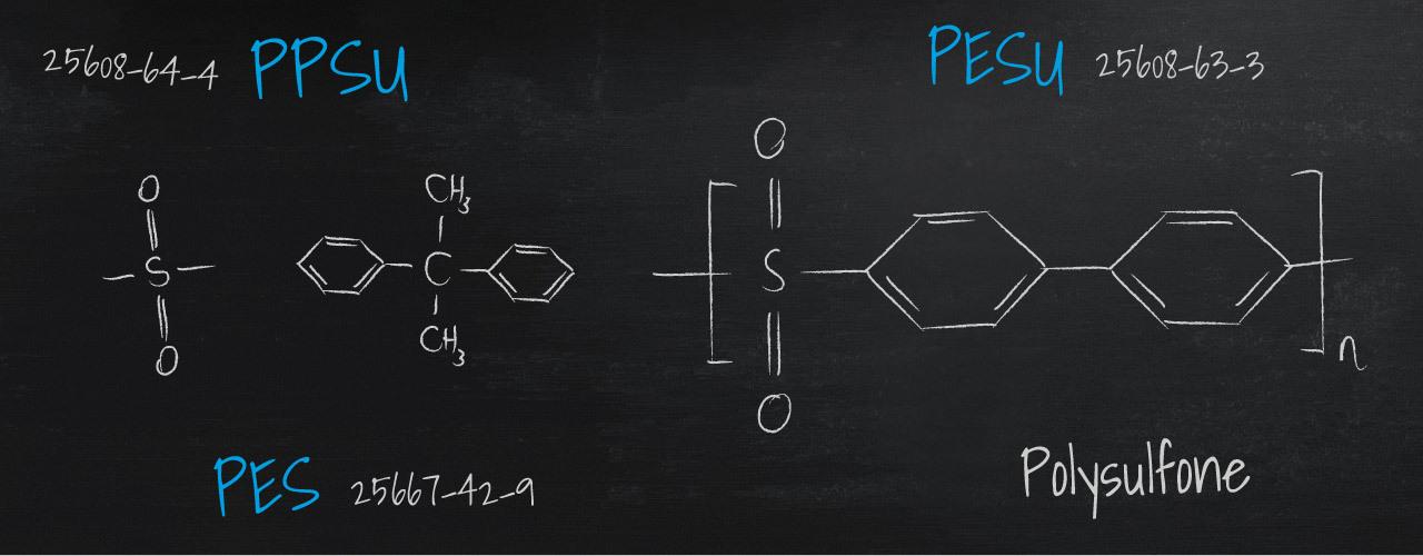 Polysulfone – PSU, PESU, PPSU